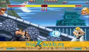 Hyper Street Fighter II (US 040202) Screenshot