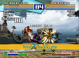 The King of Fighters 2004 EX Ultra Plus (hack) Screenshot
