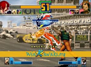 The King of Fighters 2001 (alternate set) Screenshot
