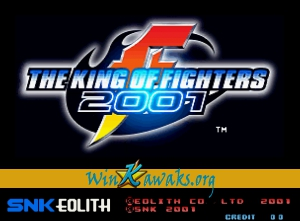 The King of Fighters 2001 (alternate set)