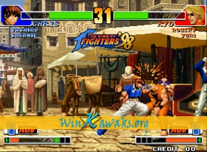 The King of Fighters '98: The Slugfest (censored M1) Screenshot