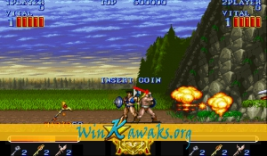 Magic Sword (Japan 900623) Screenshot