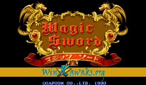 Magic Sword (Japan 900623)
