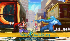 Marvel Vs. Capcom: Clash of Super Heroes (Euro 980112) Screenshot