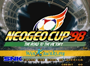 Neo-Geo Cup '98: The Road to the Victory  (Misses rasters)