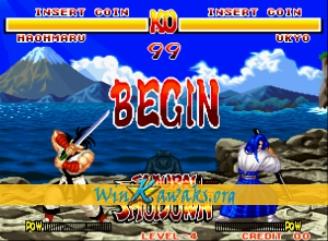 Samurai Shodown (alternate set) Screenshot