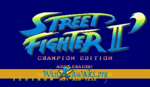 Street Fighter II' - Champion Edition (Accelerator set 1)