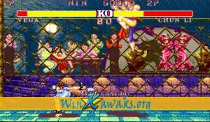 Street Fighter II' - Champion Edition (Accelerator set 2) Screenshot