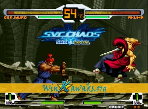 SNK Vs. CAPCOM (decrypted C) Screenshot