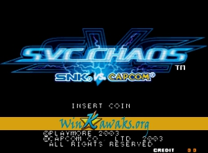 SNK Vs. CAPCOM (decrypted C)