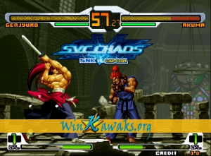 SNK Vs. CAPCOM (dedicated PCB) Screenshot